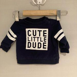 🦊 3/$10 BABY CLUB Hoodie Size 3/6 M